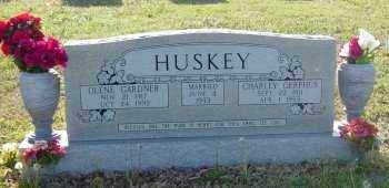 "HUSKEY, CHARLES GERPHUS ""CHARLEY"" - Lawrence County, Arkansas 