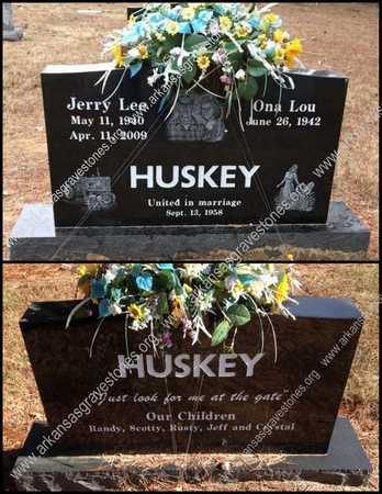 HUSKEY, JERRY LEE - Lawrence County, Arkansas | JERRY LEE HUSKEY - Arkansas Gravestone Photos