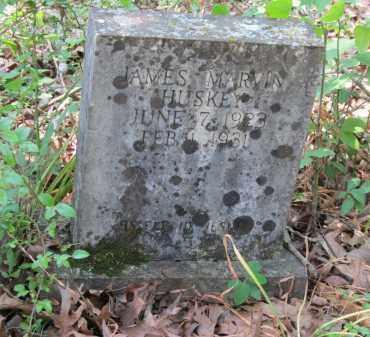 HUSKEY, JAMES MARVIN - Lawrence County, Arkansas | JAMES MARVIN HUSKEY - Arkansas Gravestone Photos