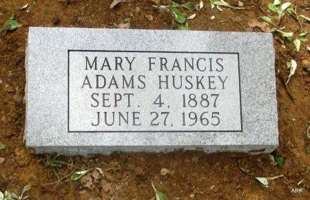 HUSKEY, MARY FRANCIS  - Lawrence County, Arkansas   MARY FRANCIS  HUSKEY - Arkansas Gravestone Photos