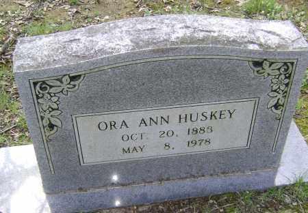 HUSKEY, ORA ANN - Lawrence County, Arkansas   ORA ANN HUSKEY - Arkansas Gravestone Photos