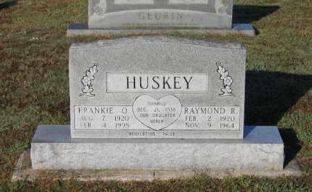 HUSKEY, RAYMOND R. - Lawrence County, Arkansas | RAYMOND R. HUSKEY - Arkansas Gravestone Photos