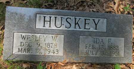 HUSKEY, WESLEY WILLIAM - Lawrence County, Arkansas | WESLEY WILLIAM HUSKEY - Arkansas Gravestone Photos