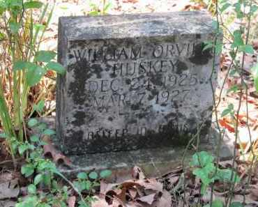 HUSKEY, WILLIAM ORVILLE - Lawrence County, Arkansas | WILLIAM ORVILLE HUSKEY - Arkansas Gravestone Photos