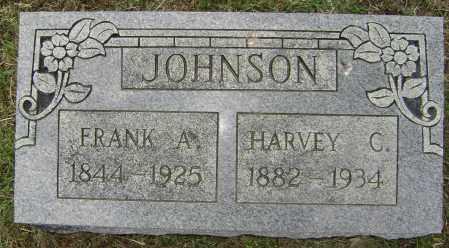 JOHNSON, HARVEY C. - Lawrence County, Arkansas   HARVEY C. JOHNSON - Arkansas Gravestone Photos
