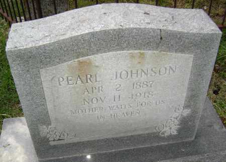 JOHNSON, PEARL - Lawrence County, Arkansas | PEARL JOHNSON - Arkansas Gravestone Photos