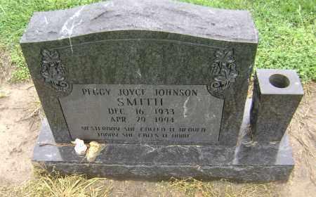 SMITH, PEGGY JOYCE JOHNSON - Lawrence County, Arkansas   PEGGY JOYCE JOHNSON SMITH - Arkansas Gravestone Photos