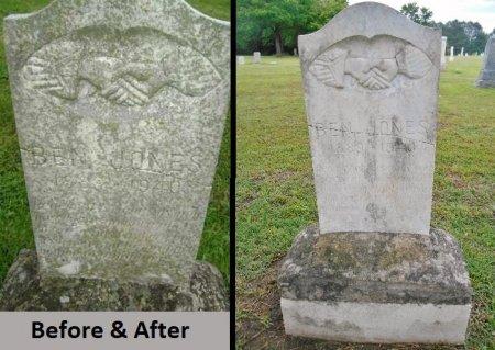 JONES, BEN - Lawrence County, Arkansas | BEN JONES - Arkansas Gravestone Photos