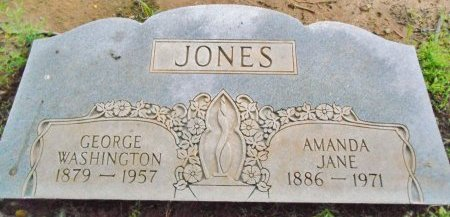 JONES, AMANDA JANE - Lawrence County, Arkansas | AMANDA JANE JONES - Arkansas Gravestone Photos