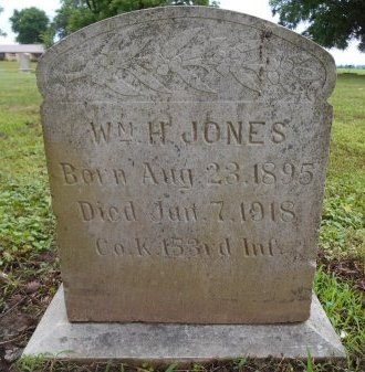JONES (VETERAN WWI), WILLIAM H - Lawrence County, Arkansas | WILLIAM H JONES (VETERAN WWI) - Arkansas Gravestone Photos