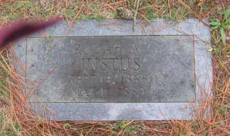 JUSTUS, RODAH A. - Lawrence County, Arkansas | RODAH A. JUSTUS - Arkansas Gravestone Photos