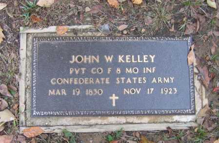 KELLEY (VETERAN CSA), JOHN WYATT - Lawrence County, Arkansas | JOHN WYATT KELLEY (VETERAN CSA) - Arkansas Gravestone Photos