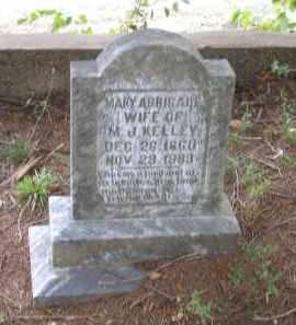 KELLEY, MARY ABBIGALE - Lawrence County, Arkansas | MARY ABBIGALE KELLEY - Arkansas Gravestone Photos