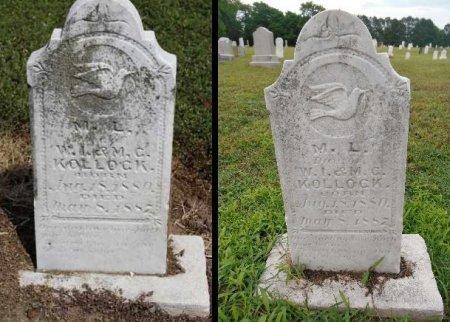 KOLLOCK, M L - Lawrence County, Arkansas | M L KOLLOCK - Arkansas Gravestone Photos