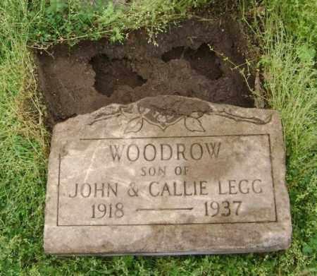 LEGG, WOODROW - Lawrence County, Arkansas | WOODROW LEGG - Arkansas Gravestone Photos