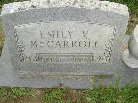 MCCARROLL, EMILY LOUISE - Lawrence County, Arkansas   EMILY LOUISE MCCARROLL - Arkansas Gravestone Photos