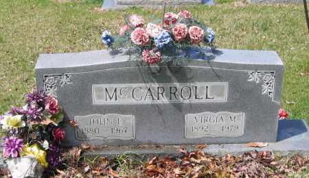 MCCARROLL, JOHN ELLISON - Lawrence County, Arkansas   JOHN ELLISON MCCARROLL - Arkansas Gravestone Photos