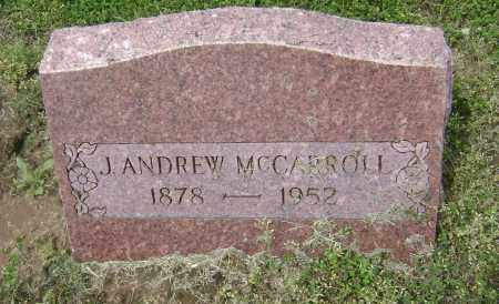 MCCARROLL, JAMES ANDREW - Lawrence County, Arkansas | JAMES ANDREW MCCARROLL - Arkansas Gravestone Photos