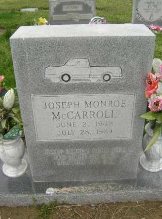 MCCARROLL, JOSEPH MONROE - Lawrence County, Arkansas | JOSEPH MONROE MCCARROLL - Arkansas Gravestone Photos