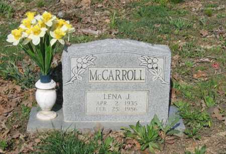 MCCARROLL, LENA JEWELL - Lawrence County, Arkansas | LENA JEWELL MCCARROLL - Arkansas Gravestone Photos