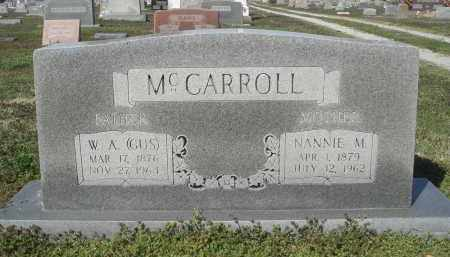 MCCARROLL, NANNIE MCGHEE - Lawrence County, Arkansas | NANNIE MCGHEE MCCARROLL - Arkansas Gravestone Photos