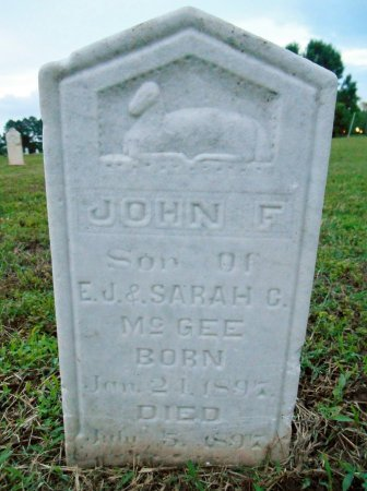 MCGEE, JOHN F - Lawrence County, Arkansas | JOHN F MCGEE - Arkansas Gravestone Photos