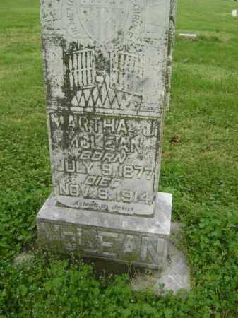 MCLEAN, MARTHA J. - Lawrence County, Arkansas | MARTHA J. MCLEAN - Arkansas Gravestone Photos