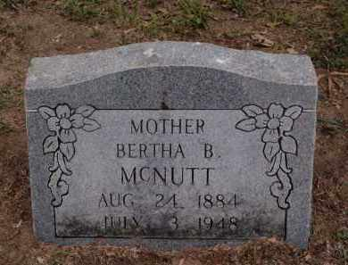 DOYLE MCNUTT, BERTHA BARBARA ANN - Lawrence County, Arkansas   BERTHA BARBARA ANN DOYLE MCNUTT - Arkansas Gravestone Photos