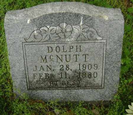 MCNUTT, DOLPH - Lawrence County, Arkansas | DOLPH MCNUTT - Arkansas Gravestone Photos