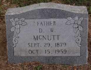 "MCNUTT, DANIEL WASHINGTON ""D W"" - Lawrence County, Arkansas   DANIEL WASHINGTON ""D W"" MCNUTT - Arkansas Gravestone Photos"