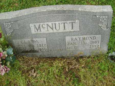 MCNUTT, RAYMOND - Lawrence County, Arkansas | RAYMOND MCNUTT - Arkansas Gravestone Photos