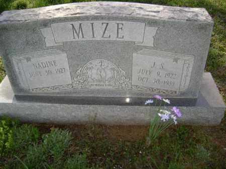 MIZE, VIDA NADINE - Lawrence County, Arkansas | VIDA NADINE MIZE - Arkansas Gravestone Photos