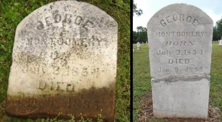 MONTGOMERY, GEORGE - Lawrence County, Arkansas | GEORGE MONTGOMERY - Arkansas Gravestone Photos