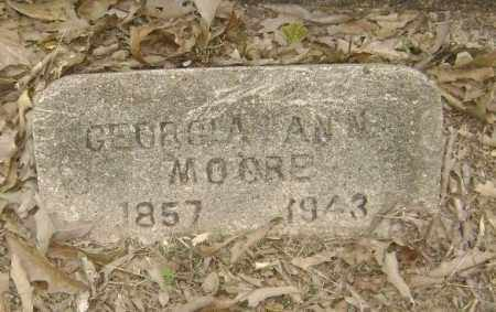 WEIR, GEORGIA ANN DENT JUDKINS MOORE - Lawrence County, Arkansas | GEORGIA ANN DENT JUDKINS MOORE WEIR - Arkansas Gravestone Photos