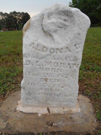MORAN, ALDONA L - Lawrence County, Arkansas | ALDONA L MORAN - Arkansas Gravestone Photos