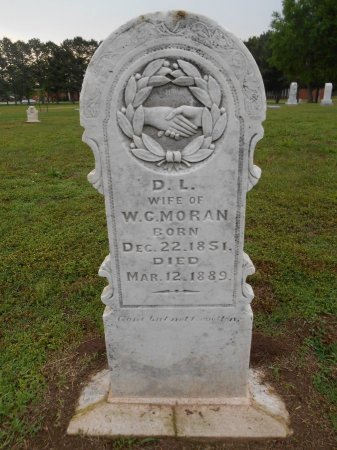 MORAN, DORCUS L - Lawrence County, Arkansas | DORCUS L MORAN - Arkansas Gravestone Photos