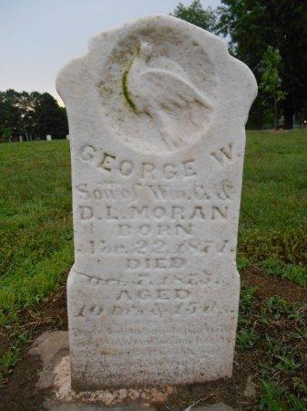MORAN, GEORGE W - Lawrence County, Arkansas | GEORGE W MORAN - Arkansas Gravestone Photos