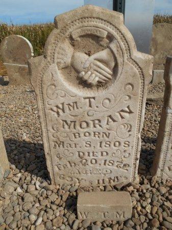 MORAN, WILLIAM T - Lawrence County, Arkansas | WILLIAM T MORAN - Arkansas Gravestone Photos