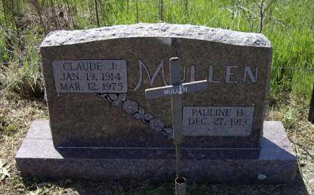 MULLEN, CLAUDE JACKSON - Lawrence County, Arkansas | CLAUDE JACKSON MULLEN - Arkansas Gravestone Photos