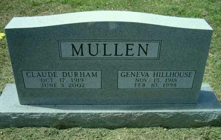 MULLEN, GENEVA DEANNE - Lawrence County, Arkansas | GENEVA DEANNE MULLEN - Arkansas Gravestone Photos