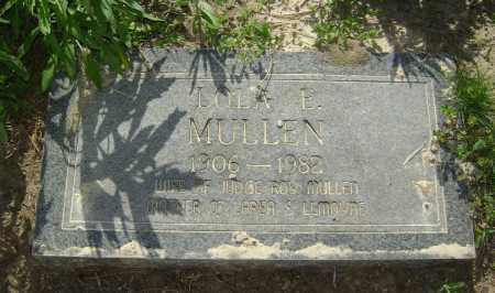 MULLEN, LOLA E. - Lawrence County, Arkansas   LOLA E. MULLEN - Arkansas Gravestone Photos
