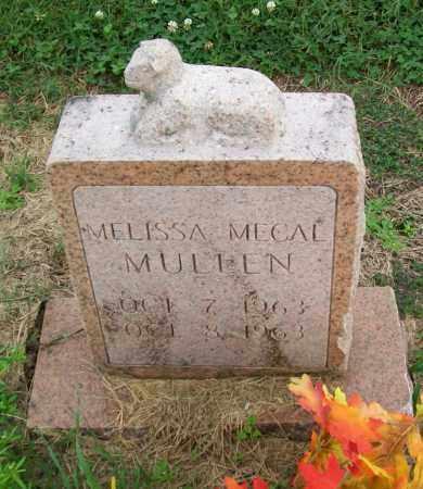 MULLEN, MELISSA MECAL - Lawrence County, Arkansas | MELISSA MECAL MULLEN - Arkansas Gravestone Photos