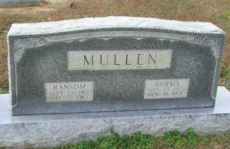 MULLEN, RANSOM - Lawrence County, Arkansas | RANSOM MULLEN - Arkansas Gravestone Photos