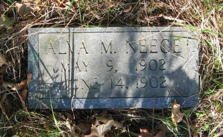 NEECE, ALVA M. - Lawrence County, Arkansas | ALVA M. NEECE - Arkansas Gravestone Photos