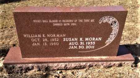MORAN, SUSAN KAY TUCKER NORMAN - Lawrence County, Arkansas | SUSAN KAY TUCKER NORMAN MORAN - Arkansas Gravestone Photos