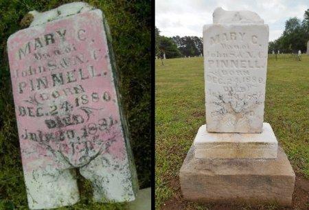 PINNELL, MARY C - Lawrence County, Arkansas | MARY C PINNELL - Arkansas Gravestone Photos