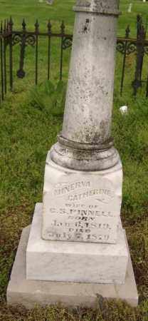 PINNELL, MINERVA CATHERINE - Lawrence County, Arkansas | MINERVA CATHERINE PINNELL - Arkansas Gravestone Photos