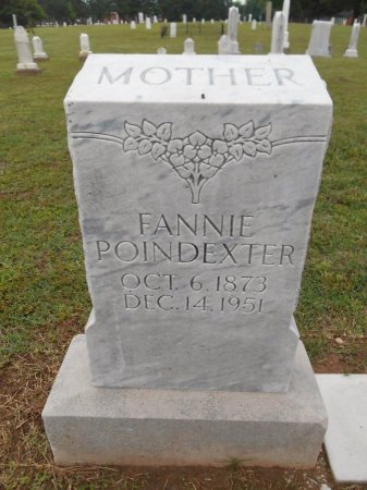 POINDEXTER, FANNIE JANE - Lawrence County, Arkansas | FANNIE JANE POINDEXTER - Arkansas Gravestone Photos
