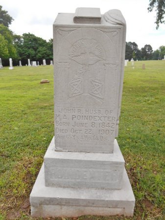 POINDEXTER (VETERAN CSA), JOHN R - Lawrence County, Arkansas | JOHN R POINDEXTER (VETERAN CSA) - Arkansas Gravestone Photos