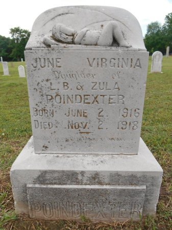 POINDEXTER, JUNE VIRGINIA - Lawrence County, Arkansas | JUNE VIRGINIA POINDEXTER - Arkansas Gravestone Photos
